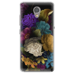 Plastové pouzdro iSaprio Temné Květy na mobil Lenovo P2