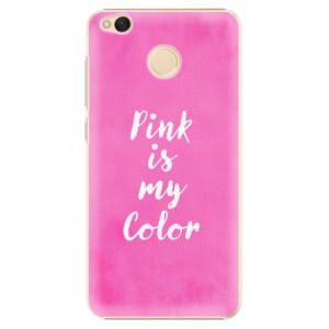 Plastové pouzdro iSaprio Pink is my color na mobil Xiaomi Redmi 4X - poslední kus za tuto cenu