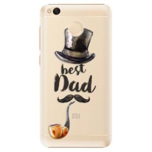 Plastové pouzdro iSaprio Best Dad na mobil Xiaomi Redmi 4X