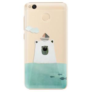 Plastové pouzdro iSaprio Bear With Boat na mobil Xiaomi Redmi 4X