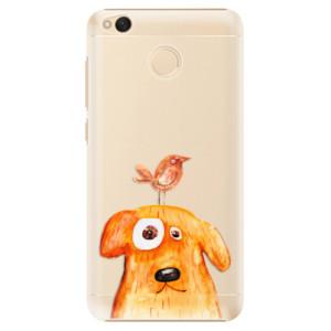 Plastové pouzdro iSaprio Pejsek a Ptáček na mobil Xiaomi Redmi 4X