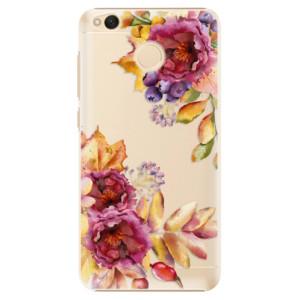 Plastové pouzdro iSaprio Podzimní Květiny na mobil Xiaomi Redmi 4X