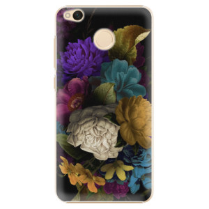 Plastové pouzdro iSaprio Temné Květy na mobil Xiaomi Redmi 4X