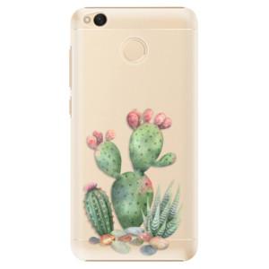 Plastové pouzdro iSaprio Kaktusy 01 na mobil Xiaomi Redmi 4X