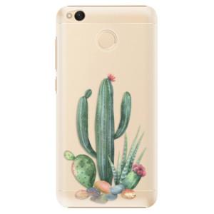 Plastové pouzdro iSaprio Kaktusy 02 na mobil Xiaomi Redmi 4X
