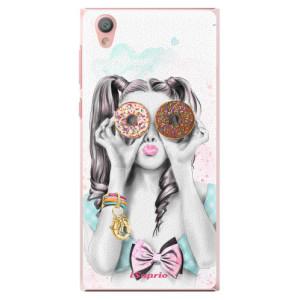 Plastové pouzdro iSaprio Donutky Očiska 10 na mobil Sony Xperia L1