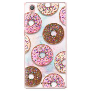 Plastové pouzdro iSaprio Donutky Všude 11 na mobil Sony Xperia L1