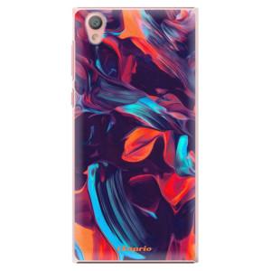 Plastové pouzdro iSaprio Barevný mramor 19 na mobil Sony Xperia L1