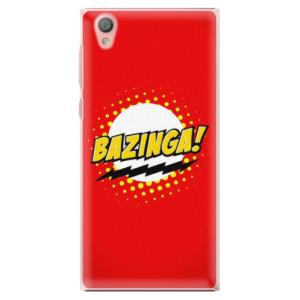 Plastové pouzdro iSaprio Bazinga 01 na mobil Sony Xperia L1