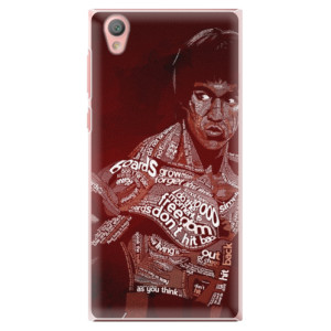 Plastové pouzdro iSaprio Bruce Lee na mobil Sony Xperia L1