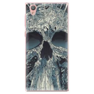Plastové pouzdro iSaprio Abstract Skull na mobil Sony Xperia L1