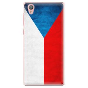 Plastové pouzdro iSaprio Česká Vlajka na mobil Sony Xperia L1