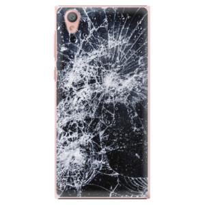 Plastové pouzdro iSaprio Praskliny na mobil Sony Xperia L1
