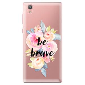 Plastové pouzdro iSaprio Be Brave na mobil Sony Xperia L1