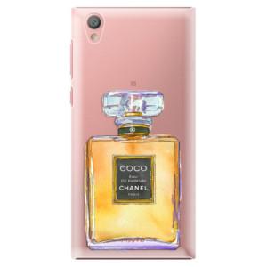 Plastové pouzdro iSaprio Chanel Gold na mobil Sony Xperia L1