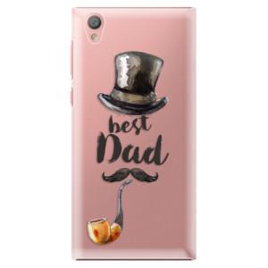 Plastové pouzdro iSaprio Best Dad na mobil Sony Xperia L1