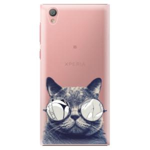 Plastové pouzdro iSaprio Šílená Číča 01 na mobil Sony Xperia L1