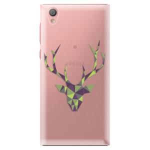 Plastové pouzdro iSaprio Zelený Jelínek na mobil Sony Xperia L1