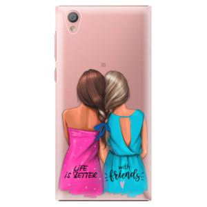 Plastové pouzdro iSaprio Best Friends na mobil Sony Xperia L1