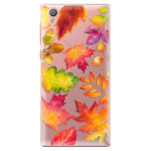 Plastové pouzdro iSaprio Autumn Leaves 01 na mobil Sony Xperia L1