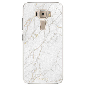 Plastové pouzdro iSaprio Zlatavý Mramor 13 na mobil Asus ZenFone 3 ZE520KL