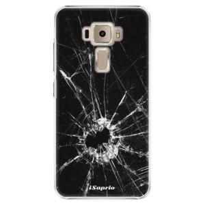 Plastové pouzdro iSaprio Broken Glass 10 na mobil Asus ZenFone 3 ZE520KL