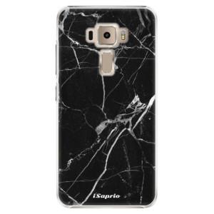 Plastové pouzdro iSaprio black Marble 18 na mobil Asus ZenFone 3 ZE520KL