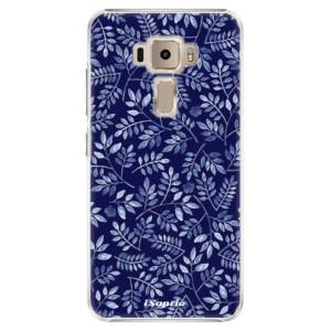 Plastové pouzdro iSaprio Blue Leaves 05 na mobil Asus ZenFone 3 ZE520KL