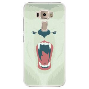 Plastové pouzdro iSaprio Angry Bear na mobil Asus ZenFone 3 ZE520KL