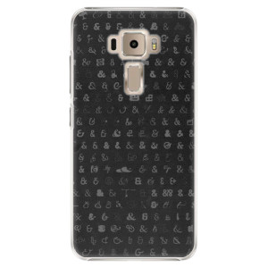 Plastové pouzdro iSaprio Ampersand 01 na mobil Asus ZenFone 3 ZE520KL