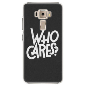 Plastové pouzdro iSaprio Who Cares na mobil Asus ZenFone 3 ZE520KL