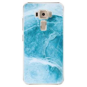 Plastové pouzdro iSaprio Blue Marble na mobil Asus ZenFone 3 ZE520KL