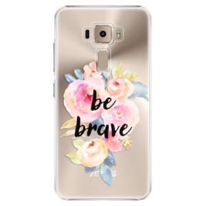 Plastové pouzdro iSaprio Be Brave na mobil Asus ZenFone 3 ZE520KL