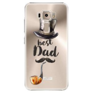 Plastové pouzdro iSaprio Best Dad na mobil Asus ZenFone 3 ZE520KL