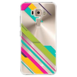 Plastové pouzdro iSaprio Barevné Pruhy 03 na mobil Asus ZenFone 3 ZE520KL