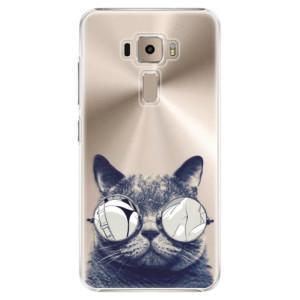 Plastové pouzdro iSaprio Šílená Číča 01 na mobil Asus ZenFone 3 ZE520KL