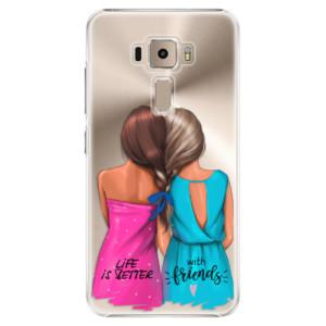 Plastové pouzdro iSaprio Best Friends na mobil Asus ZenFone 3 ZE520KL