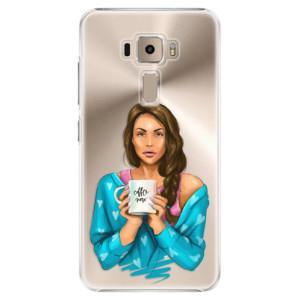 Plastové pouzdro iSaprio Coffee Now Brunetka na mobil Asus ZenFone 3 ZE520KL