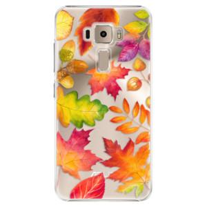 Plastové pouzdro iSaprio Autumn Leaves 01 na mobil Asus ZenFone 3 ZE520KL