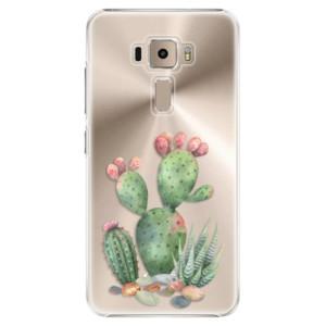 Plastové pouzdro iSaprio Kaktusy 01 na mobil Asus ZenFone 3 ZE520KL
