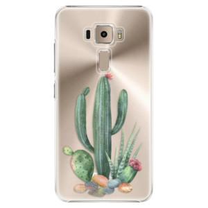 Plastové pouzdro iSaprio Kaktusy 02 na mobil Asus ZenFone 3 ZE520KL