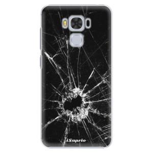 Plastové pouzdro iSaprio Broken Glass 10 na mobil Asus ZenFone 3 Max ZC553KL