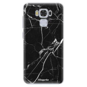Plastové pouzdro iSaprio black Marble 18 na mobil Asus ZenFone 3 Max ZC553KL
