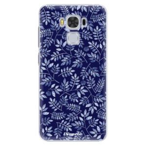 Plastové pouzdro iSaprio Blue Leaves 05 na mobil Asus ZenFone 3 Max ZC553KL