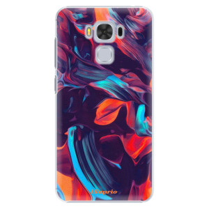 Plastové pouzdro iSaprio Barevný mramor 19 na mobil Asus ZenFone 3 Max ZC553KL