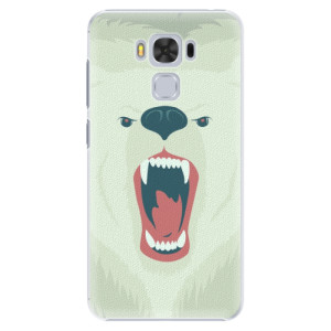 Plastové pouzdro iSaprio Angry Bear na mobil Asus ZenFone 3 Max ZC553KL