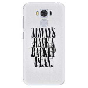 Plastové pouzdro iSaprio Backup Plan na mobil Asus ZenFone 3 Max ZC553KL