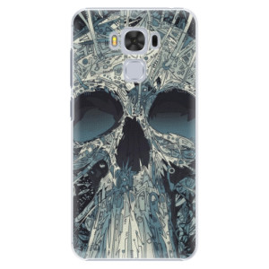 Plastové pouzdro iSaprio Abstract Skull na mobil Asus ZenFone 3 Max ZC553KL