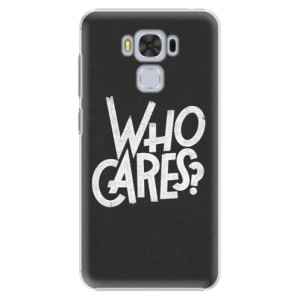Plastové pouzdro iSaprio Who Cares na mobil Asus ZenFone 3 Max ZC553KL