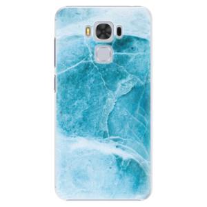 Plastové pouzdro iSaprio Blue Marble na mobil Asus ZenFone 3 Max ZC553KL